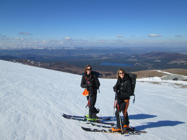 On Cairngorm in stunning weather, March 2014.