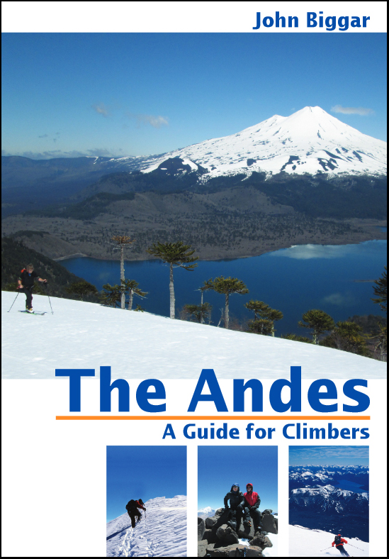 ANDES are the publishers of the only comprehensive climbing guidebook to the Andes - 'The Andes' by John Biggar. ISBN 978-0-9536087-4-4