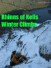 Ice climbing in Dumfries and Galloway, Scotland